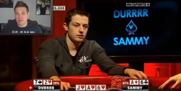 Il coach Doug Polk commenta i tre bluff più pazzi della storia del poker live in TV