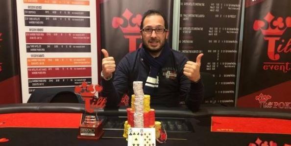 Sanremo Poker Open – Vittorio Meraviglia fa festa superando Mauro Muratori in heads-up