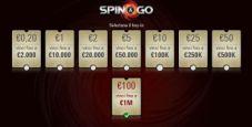 Spin&Go 'level up': disponibili i 100€ di buy-in con montepremi massimo da 1.200.000€!