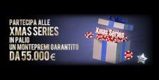 Xmas Series su Lottomatica.it Poker: da Natale 30 tornei per 55.000€ di montepremi garantiti!