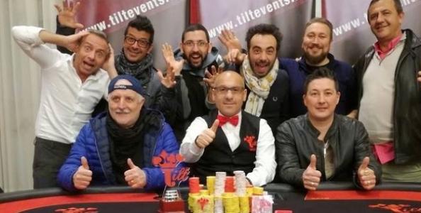 Befana in Tilt – Regis Sacco si fa un triplo regalo superando oltre 200 avversari a Sanremo