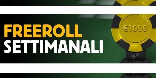 Gioca i Freeroll Betfair: ogni settimana 1.000€ in palio!