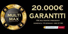 Su Lottomatica.it Poker arriva il Multi-Max, primo domenicale multi-entry del poker italiano!