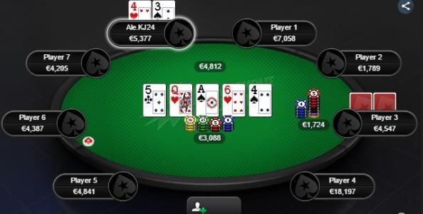 "Thinking Process – Alessandro Meloni snappa river con bottom pair: ""Easy call!"""