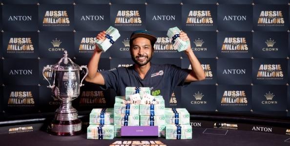 Aussie Millions: impresa di Shurane Vijayaram, vince il titolo dopo essersi qualificato con un satellite da 130$!