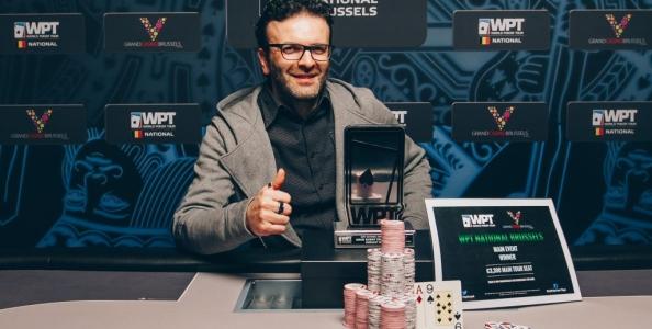 Chapeau Castelluccio! Sergio vince il WPT National di Bruxelles per 105.000 euro