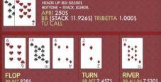 Action! Dario Sammartino in quattro dei piatti cash più ricchi giocati ieri su PokerStars dot com