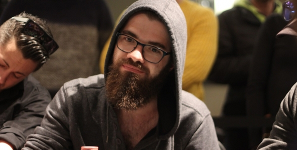PartyPoker Millions Phase 1A: 26 player al day1, Papazian chipleader