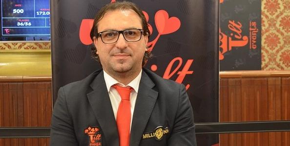 """Il poker manager Davide Goffredo sul Millions: """"A Sanremo quattro Phase1 per venire incontro ai residenti"""""""