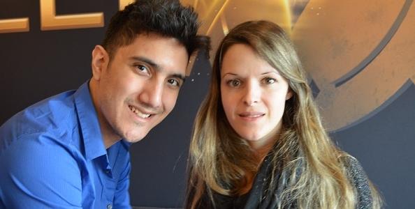 Sweat with Maria Lampropoulos: il racconto di Ivan Luca che raila la ragazza al final table del Millions!