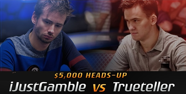 A carte scoperte 5.000$ HU: 'iJustGamble' vs. 'Trueteller'