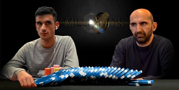 Marcello Miniucchi vs Karim Feddag in uno spot da brividi al Phase1B del PartyPoker Millions!