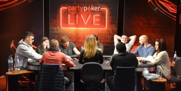 PartyPoker Millions Nottingham Day4 – Niente gloria per gli azzurri, Mateusz Rypulak in testa al count a 8 left!