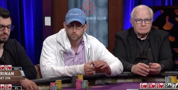 Una mano tra fenomeni: Peters trasforma un trips in bluff e fa passare colore a Drinan al SHRB