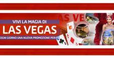 """""""Viva Las Vegas"""" su Gioco Digitale: ogni giorno vinci bonus e premi in un casinò diverso di Sin City!"""