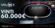 Che colpo per 'Paco1000': trova il VeloX da 60.000€ con 10€ e lo vince grazie a un 'magic river'!