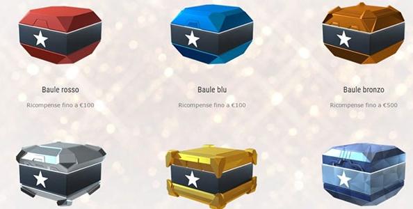 Stars Rewards: distribuiti più di 600.000€ in 20 giorni! Il racconto dei vincitori di due bauli da 1.000€