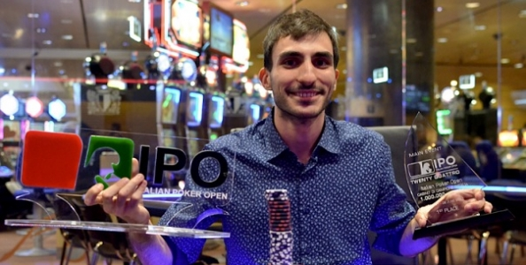 Brando Naspetti completa una rimonta da 300.000€ all'IPO 24! Cosimo De Gennaro è il runner-up