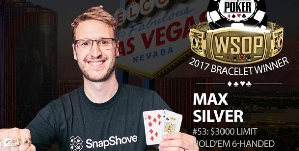WSOP – Mohsin Charania completa la sua Triple Crown! Max Silver vince nel Limit
