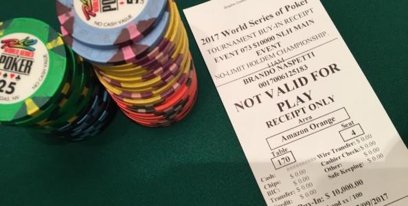 WSOP – I numeri di un Main Event… molto azzurro!