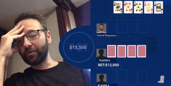 WSOP Hand reviews: Daniel Negreanu analizza tre spot giocati al Pot Limit Omaha Championship