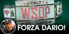 WSOP – Sammartino è l'ultimo azzurro in gara nel Main Event! Si va al Day 6 con 85 left