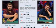 Durezza alla bolla final table del Main WSOP: Sinclair ne spara tre in bianco, per Blumstein un herocall da urlo!