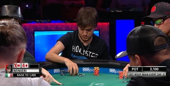 """Dario Minieri racconta il suo ritorno alle WSOP: """"Ho subito degli swing ma ora giocherò di più a poker"""""""