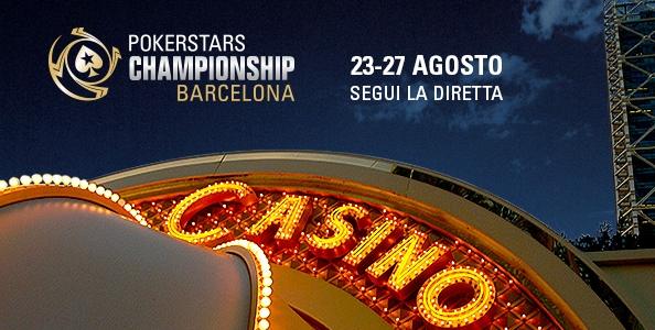 Segui la diretta streaming del PokerStars Championship Barcellona!