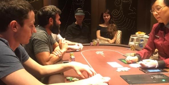 Non si ferma l'action a Las Vegas: ecco Tom Dwan al cash dell'Aria con Bellande e Bilzerian