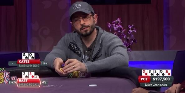 Poker After Dark – Rast folda full house contro Cates! Il migliore al tavolo è ancora Jason Koon