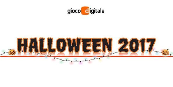 Tante sorprese e bonus per tutti i giochi: su Gioco Digitale è tempo di Halloween 2017!