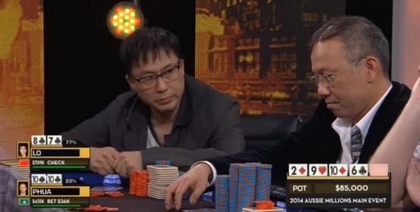 Video – Asian high stakes! Paul Phua vs Lo Shing Fung e un distratto pot da 1.000.000$…