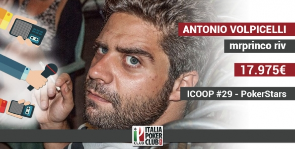 """Antonio Volpicelli e lo shippo Turbo all'ICOOP: """"Non riesco più a reggere bene le lunghe sessioni"""""""