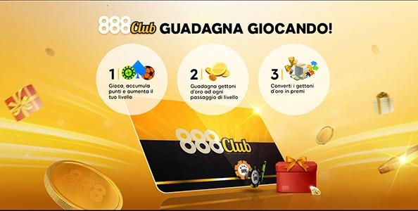 Premi e bonus al 888Club! Ecco come funziona il Vip System di 888poker
