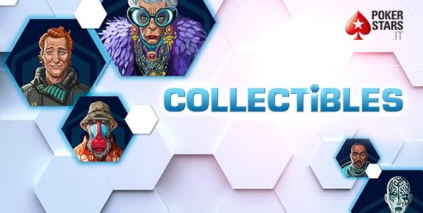 Sono arrivati i Collectibles su PokerStars! Colleziona carte per vincere bonus fino a 3.000€