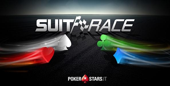 Scommetti sui semi delle carte e vinci! Ecco la promo Suit Race ai tavoli cash di PokerStars