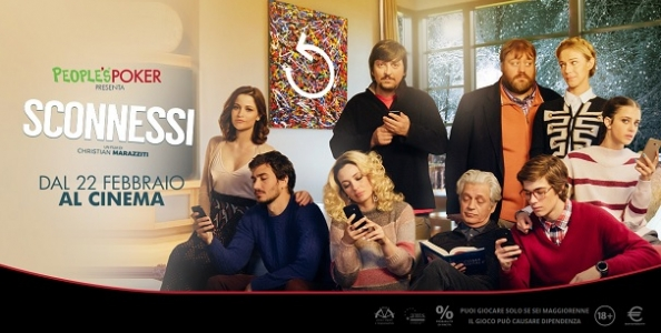 People's Poker ci regala il cinema! Da oggi 100 ingressi in palio per il film 'Sconnessi'