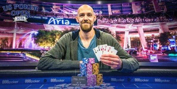 US Poker Open – Che doppietta per Chidwick! Vince due tornei in 24 ore incassando 800mila dollari