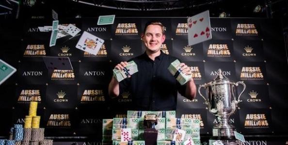 Aussie Millions – Toby Lewis vince il Main dei record, Kanit comanda il $100k Challenge!
