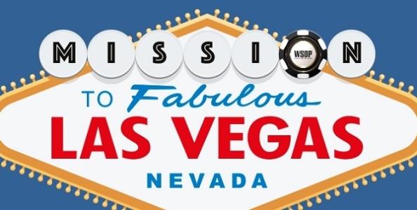 Vuoi giocare GRATIS il Main Event WSOP? Partecipa a 'Mission To Vegas' di SNAI!