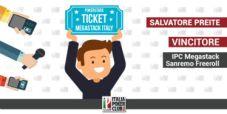 """Salvatore Preite vince il ticket Megastack Sanremo col nostro freeroll: """"Mai partecipato ad un evento importante"""""""