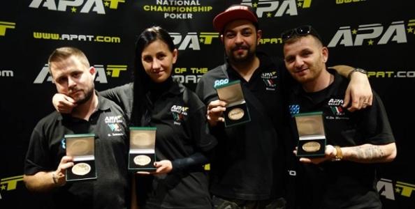 """Doppio bronzo per l'Italia ai mondiali di poker amatoriale: """"Abbiamo sfiorato una rimonta storica"""""""