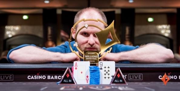 Sam Greenwood l'ha rifatto! Resta con 1 buio al final table ma poi vince 1.000.000€ a Barcellona