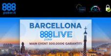 Ti piacerebbe giocare GRATIS l'888live Barcellona? Partecipa ai Freeroll di 888poker!