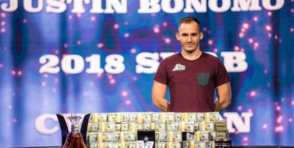 Ancora lui! Justin Bonomo shippa 5.000.000$ nel Super High Roller Bowl. Negreanu è il runner-up