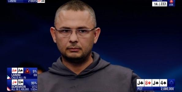 """Davor Lanini, 14° all'EPT senza tanti rimpianti: """"Me la gioco con tutti, Schemion è solo fortunato"""""""