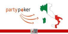 PartyPoker torna in Italia!