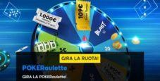 Gira la POKERoulette su 888poker! Ogni giorno ti aspettano ticket e bonus in regalo