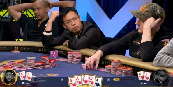 Koon-Tsang e un pot da 1.500.000$ alle Triton Super High Roller Series!